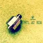 Phevanda mtl A2 RDA by PHEVANDA MODS【アトマイザー】レビュー