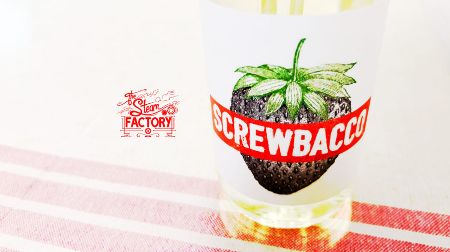 Screwbacco by The Steam Factory【リキッド】レビュー