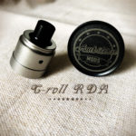 C-roll RDA by Ambition Mods【アトマイザー】レビュー
