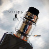 Solomon 3 RTA by KAEES【アトマイザー】レビュー