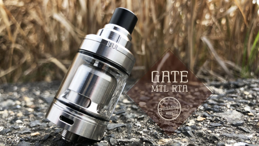 GATE MTL RTA by Ambition Mods【アトマイザー】レビュー