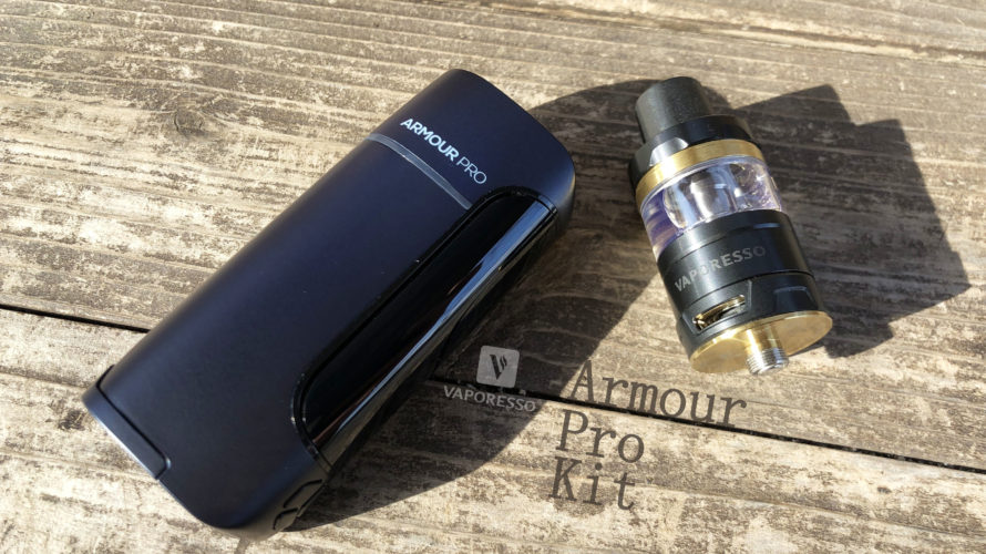 Armour Pro Kit by Vaporesso【スターターキット】レビュー
